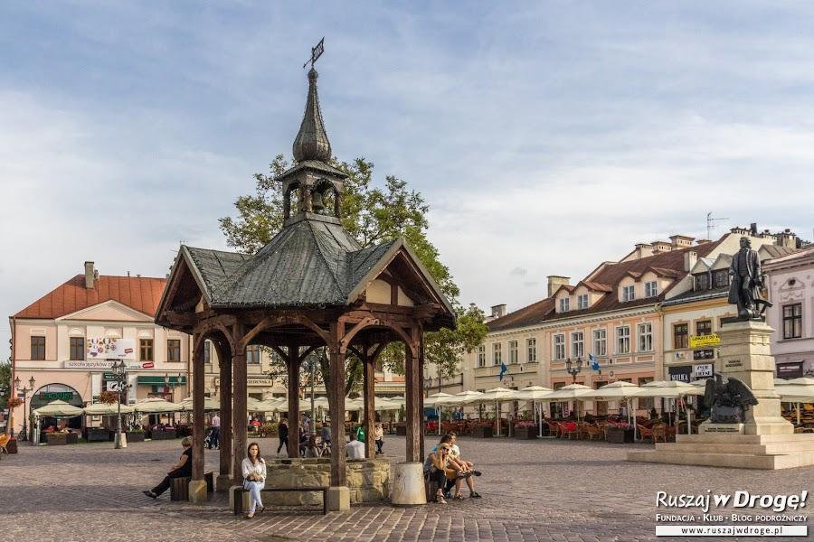 Studnia na rynku w Rzeszowie