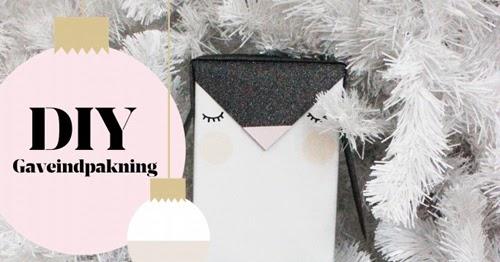 My Owl Barn: 2 Adorable Animal Gift Wrapping Tutorials