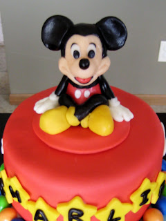 Baby Mickey Edible Cake Images