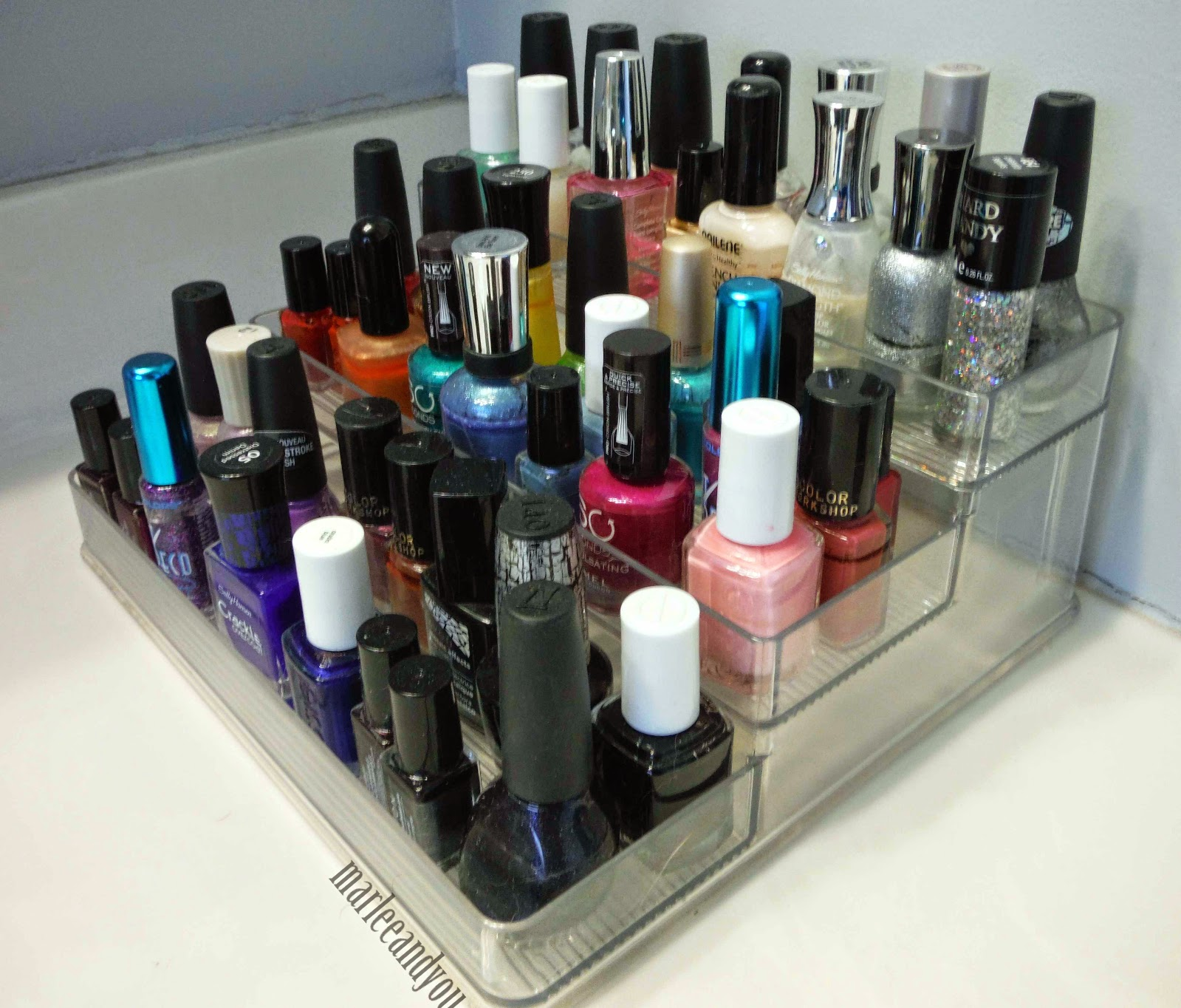 nail polish storage | marlee and you