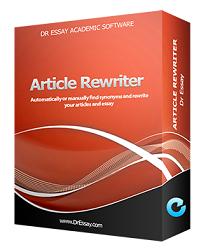 article rewriter dr essay