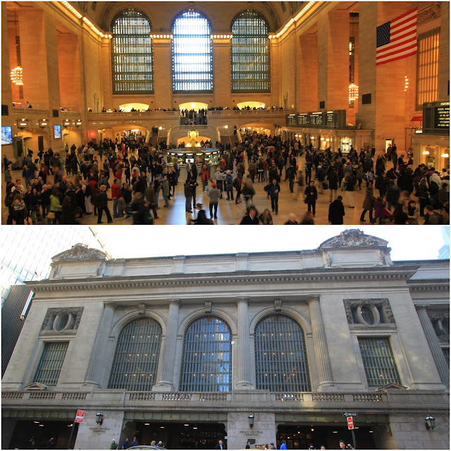 Grand Central Terminal tend to be featured in the American movies as part of featuring the New York lifestyle at New York Manhattan downtown, USA