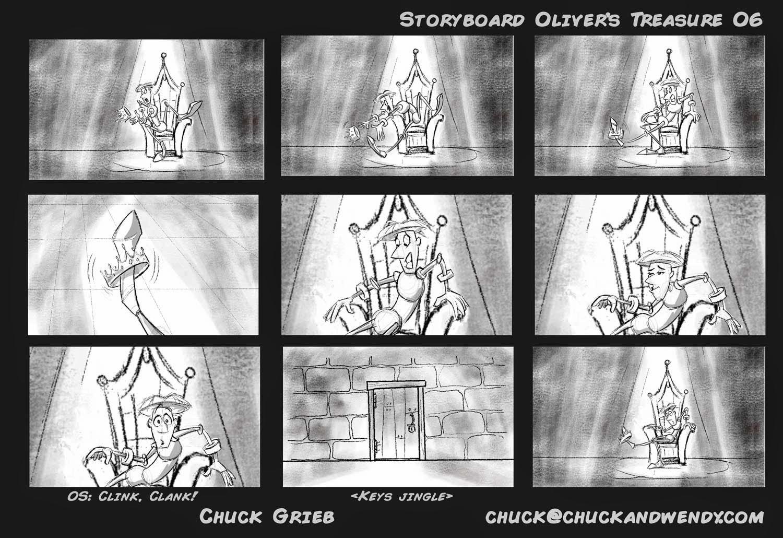 chuck grieb u0026 39 s storyboard portfolio  storyboard for the