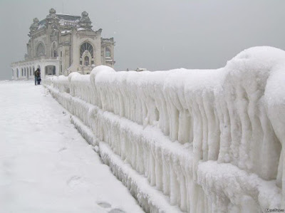 Winter in Constanta, Romania