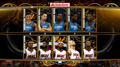 NBA 2K13 OKC vs HEAT Preview