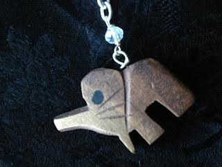 Elefant, halsband, smycken