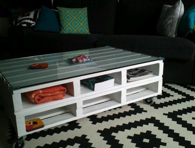 Diy x4duros 39 13 mesa de palets de ainara - Mesas de palet ...