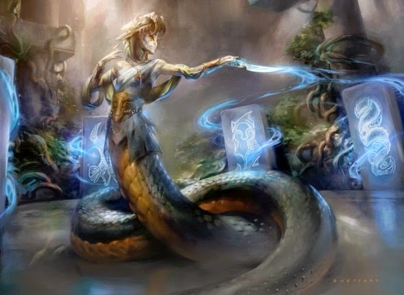Cynthia Sheppard deviantart pinturas digitais fantasia card games magic the gathering