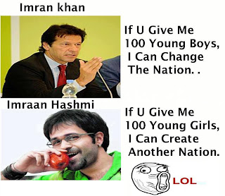 The difference. Imraan Hashmi Trolls Imran Khan