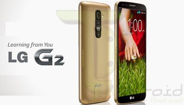 LG G2 com versão dourada 32GB agora disponível no Brasil