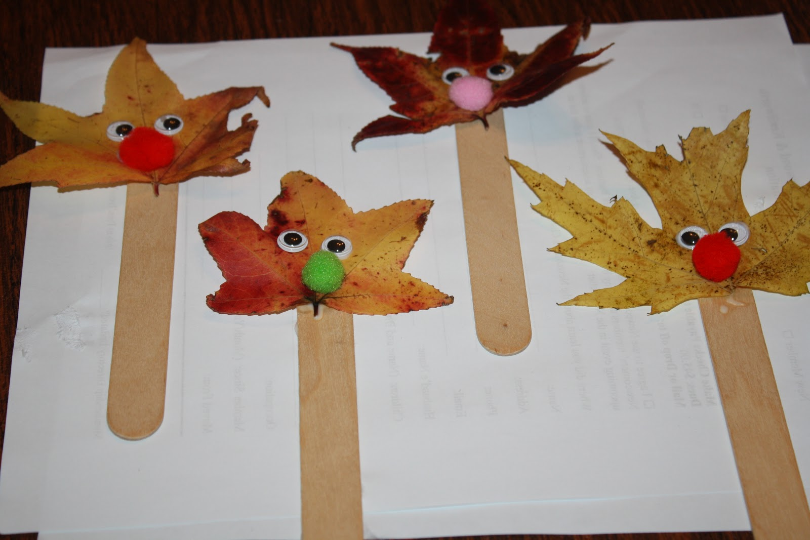 Fun fall projects for kids the chirping moms for Simple fall crafts for kids