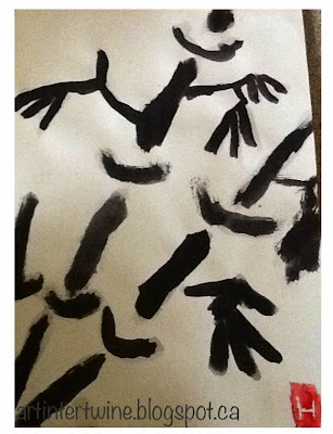 Art Intertwine - Sumi-e Bamboo Painting