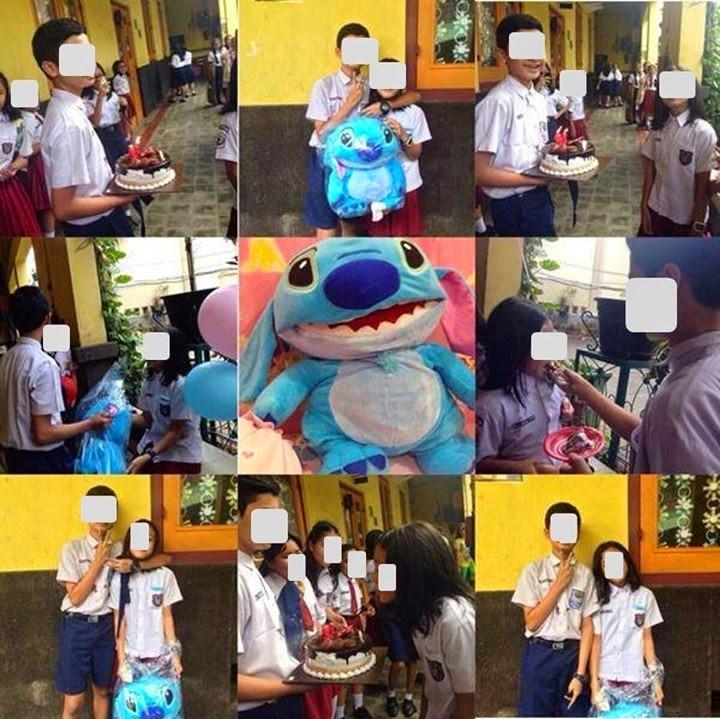 Foto Siswa SMP Nembak Siswi SD