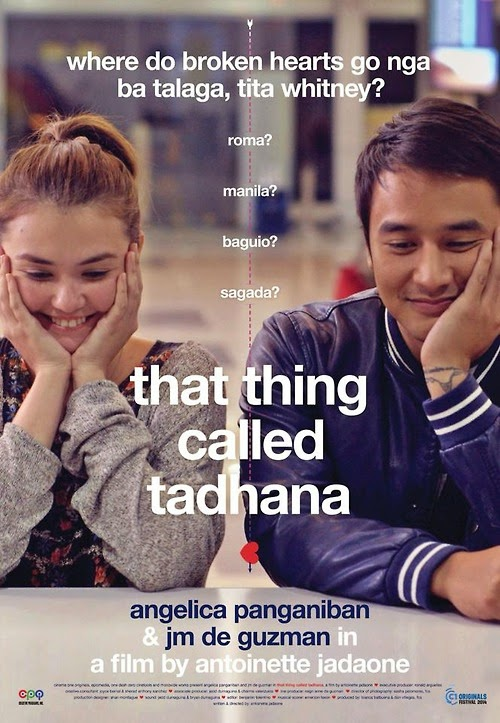 That Thing Called Tadhana movie poster