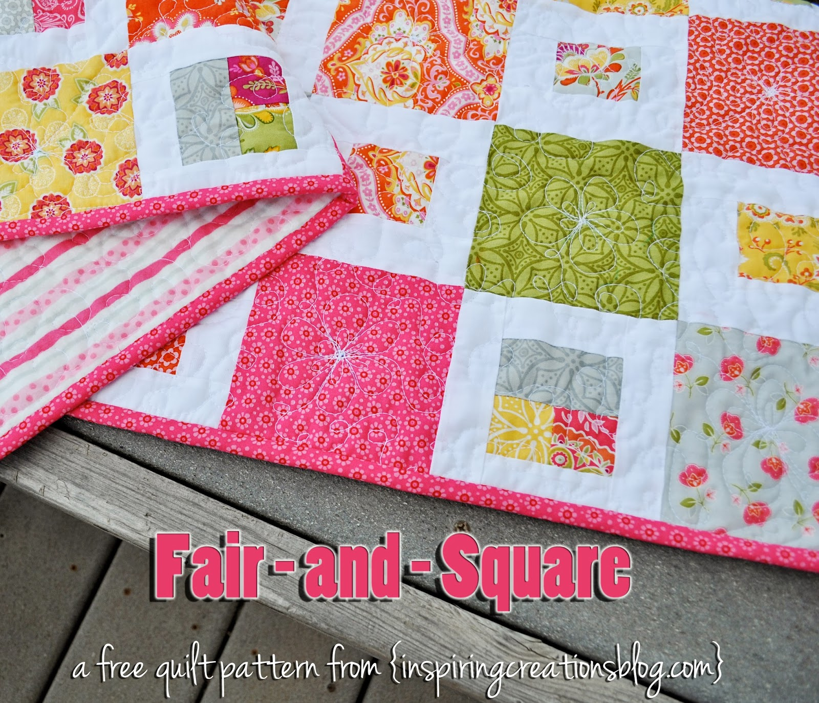 Inspiring creations fair and square free pattern and video tutorial fair and square free pattern and video tutorial maxwellsz