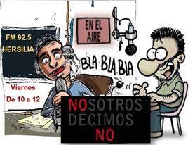 """Programa de Radio """"Nosotros decimos NO"""" - Clic en imagen para Escuchar en VIVO"""