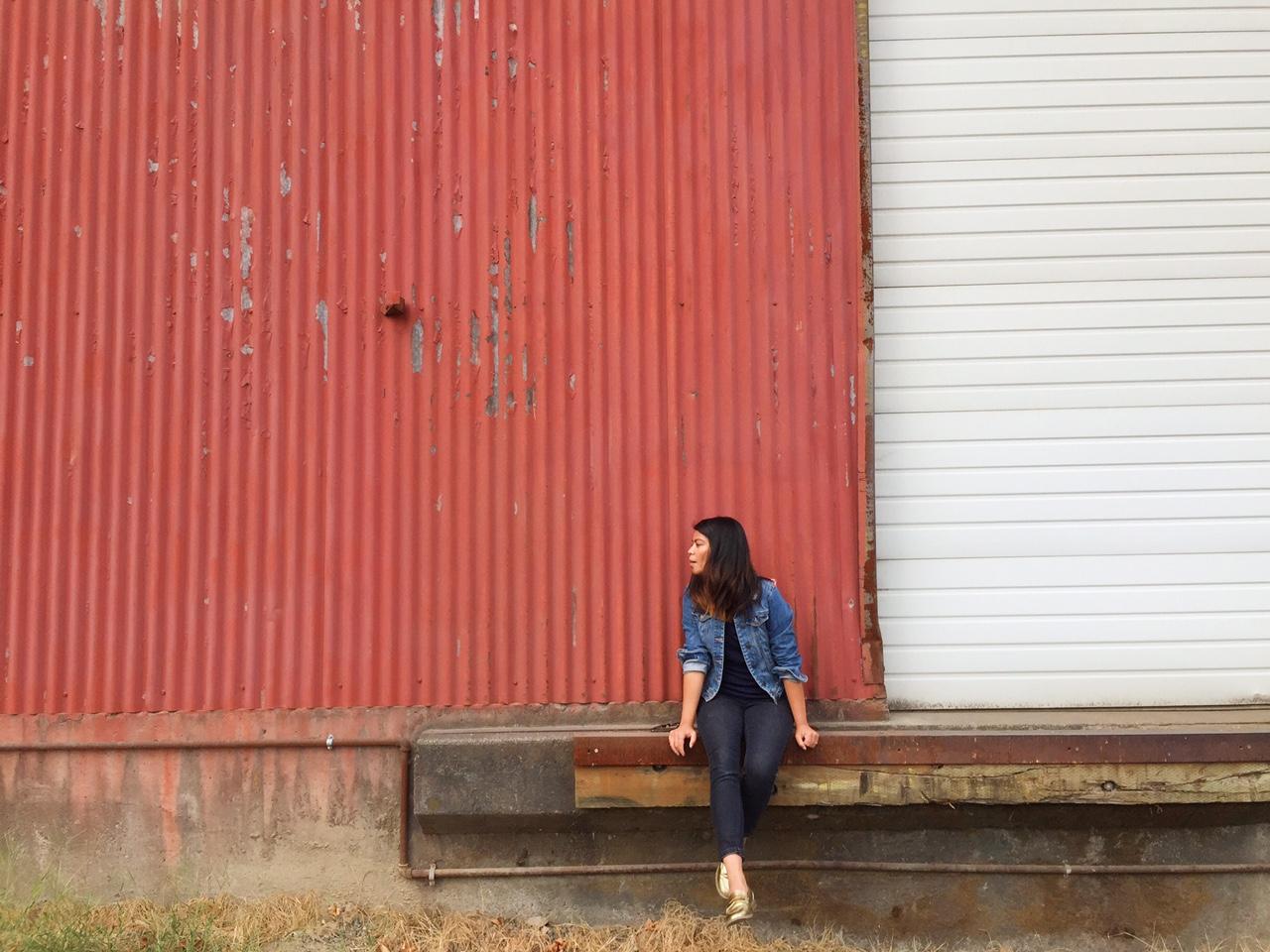 ootd, portland blogger, fblogger, denim on denim, forever21xme, old navy style, gold loafers, fashion blogger
