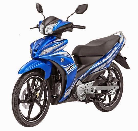 Yamaha Jupiter Z1 Blue Racer