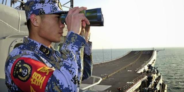 Cina Perkokoh Klaim Wilayah Laut