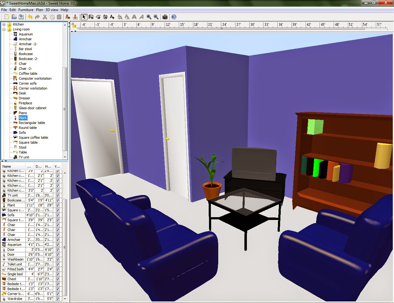Home interior design software home interior decorating for Interior planning software