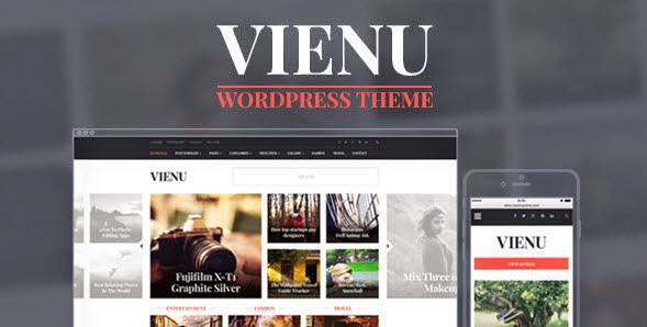 Vienu - Blog/Magazine Responsive WordPress Theme