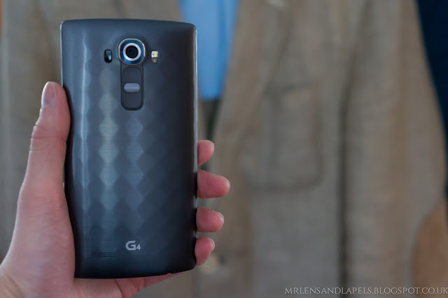 LG G4 buttons rear