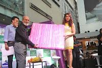 Bipasha Basu promotes Emami Vasocare at Phoenix Mill