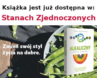 """Książkę """"Alkaliczny styl życia"""" można kupić w Stanach Zjednoczonych"""