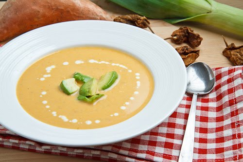 Chipotle Sweet Potato Vichyssoise