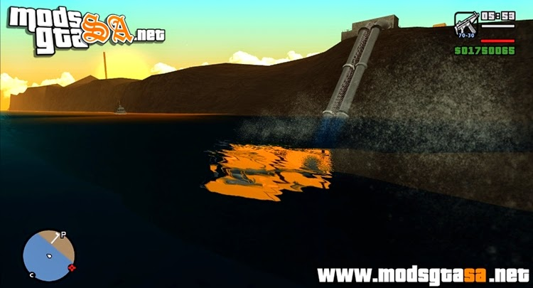 SA - Submarino do GTA V Cleo Mod