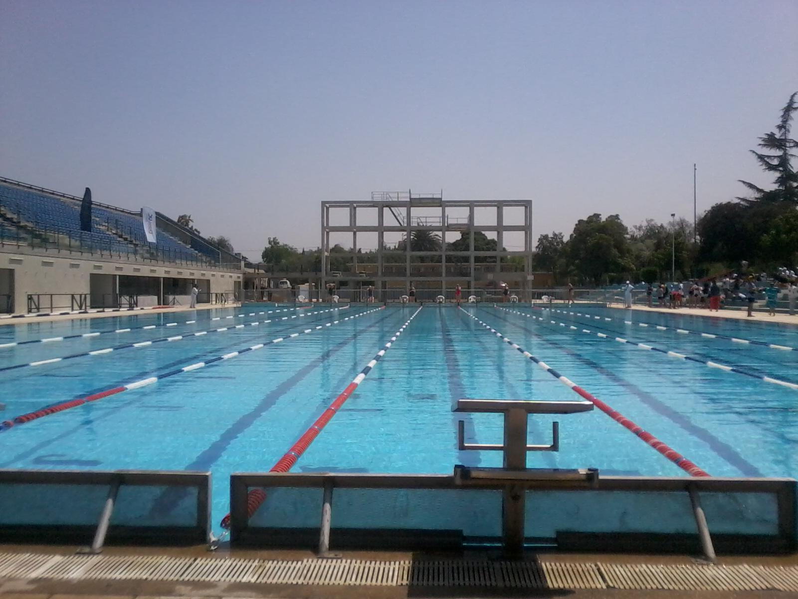 Nataci n fotos piscina ol mpica el car santiago for Piscina olimpica