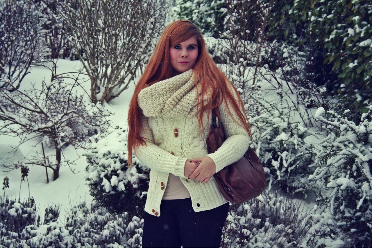 Look hivernal: comme un flocon