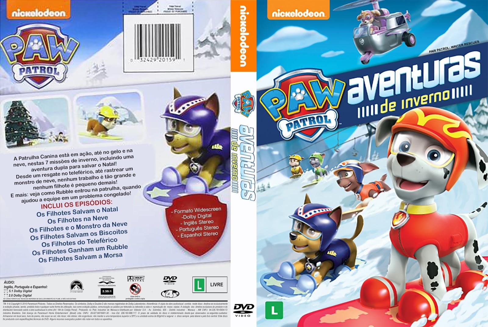 Download Paw Patrol Aventuras de Inverno DVDRip XviD Dublado Paw 2BPatrol 2B  2BAventuras 2Bde 2BInverno