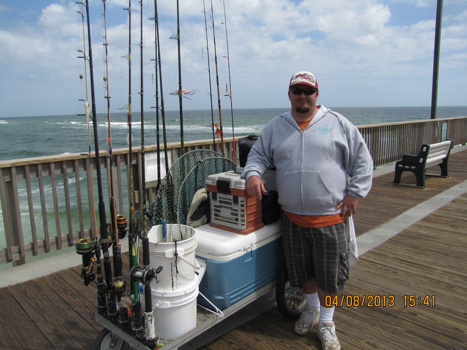 Outdoor notes pier carts all sizes and all styles for Pier fishing net
