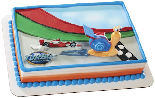 disney turbo birthday cake ideas