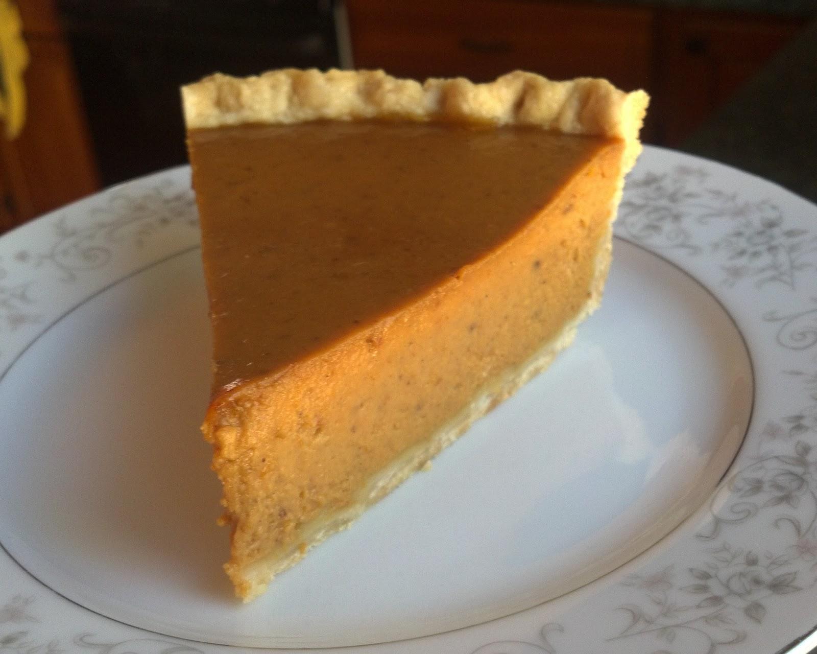 Baking Outside the Box: Spiced Pumpkin Pie