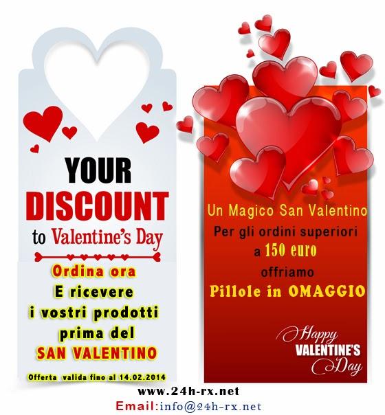 Un Magico San Valentino - Offerta valida fino al 14.02.2014