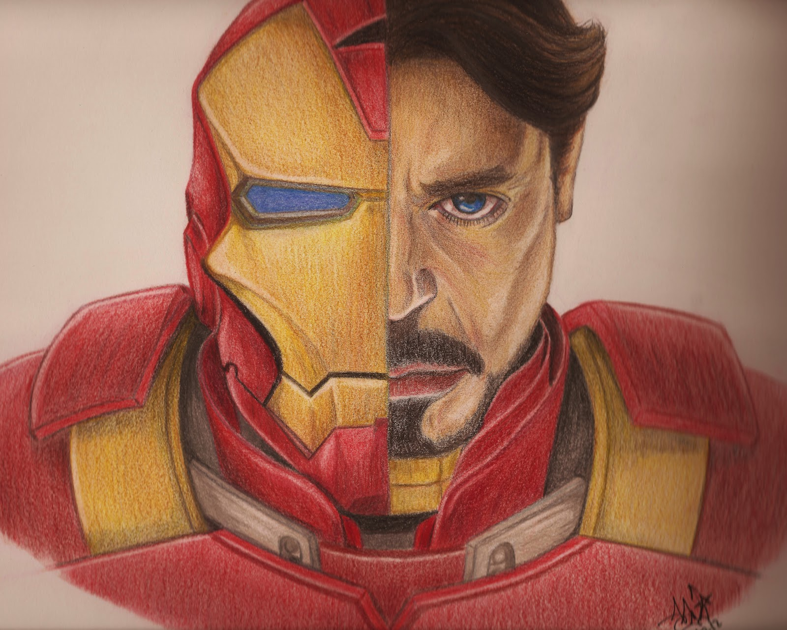 DIBUJOS Y RETRATOS: IR... Robert Downey Jr Facebook