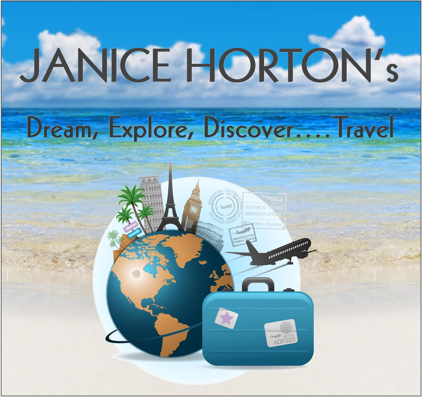 Dream, Explore, Discover...Travel! My NEW look travel feature for LLm Ezine