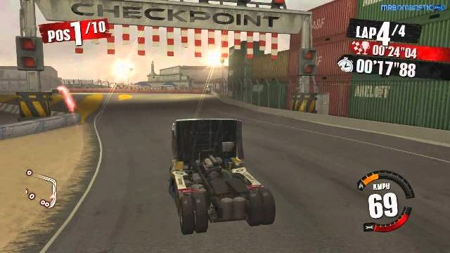 Truck Racer PC Games Gameplay