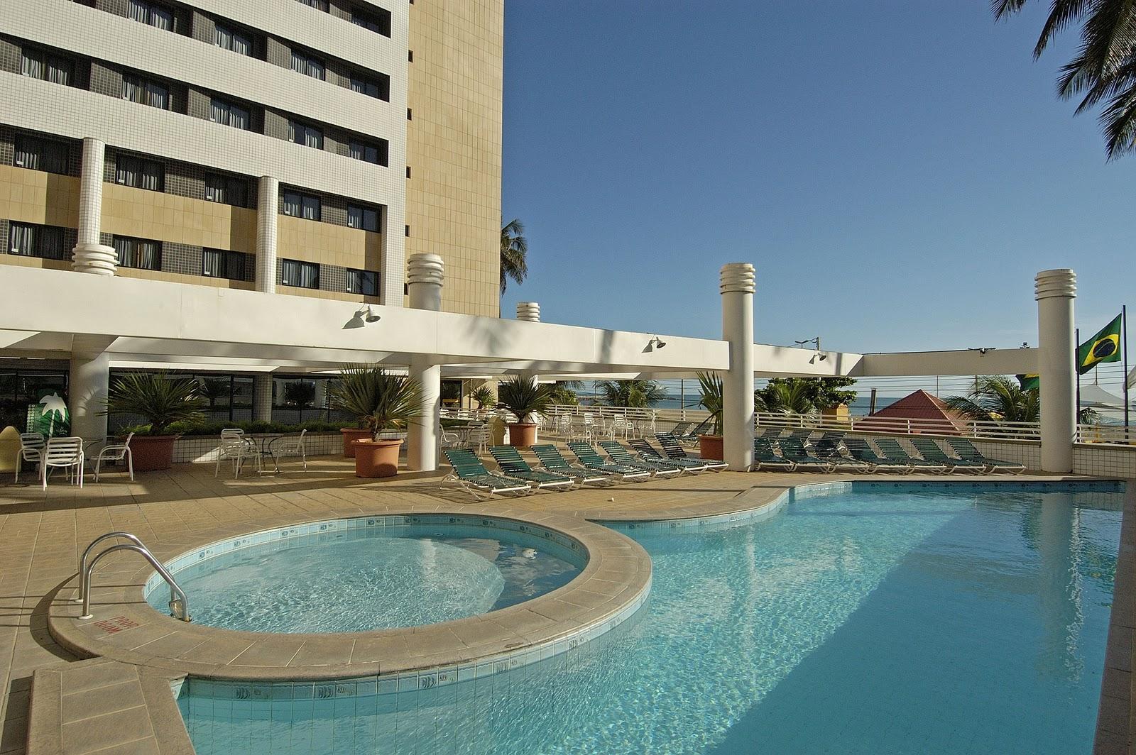 VIAJANTE ESPECIAL: Hotel Holiday Inn  Fortaleza CE #457085 1600x1064 Banheiro Adaptado Com Chuveiro