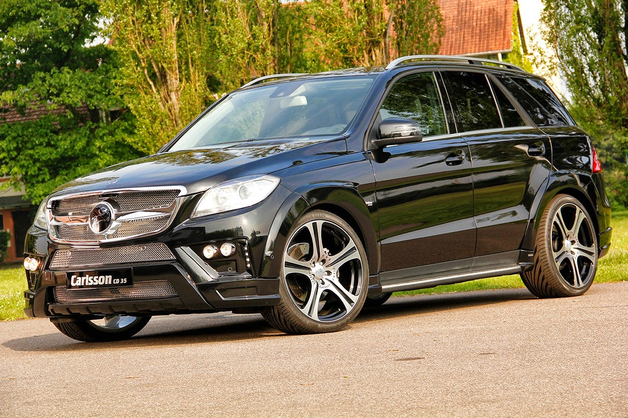 Carlsson Cd35 Based On Mercedes Benz W166 Ml Class