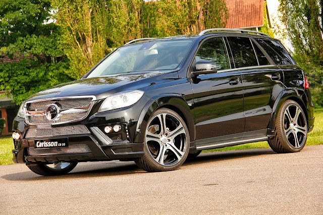 mercedes ml carlsson
