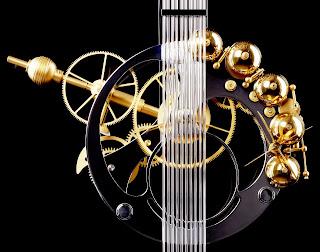 Sonnerie horloge Hippocampus de Miki Eleta