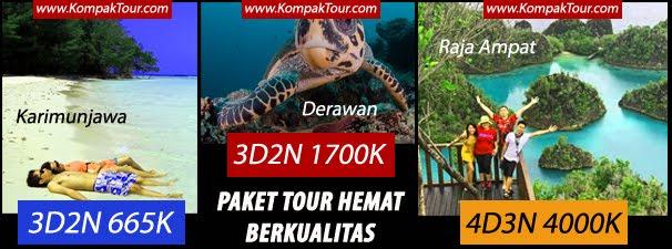 """BIRO PERJALANAN """"KOMPAK TOUR"""" TERPERCAYA SEJAK THN 2012"""