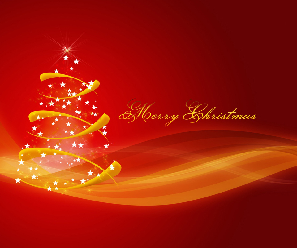 Free Tablet PC Christmas Wallpapers