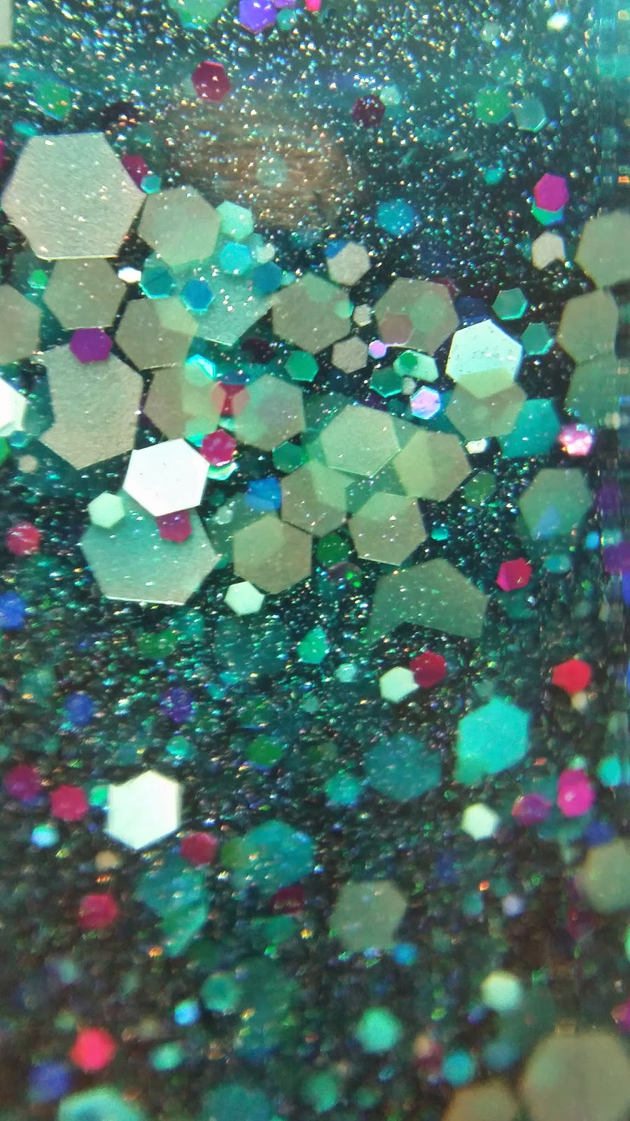 Glitter macros for your phone