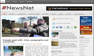 NewsNet Blogger Template