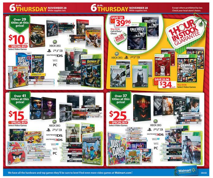 Walmart Black Friday 2013 Ad | Black Friday Ads 2013