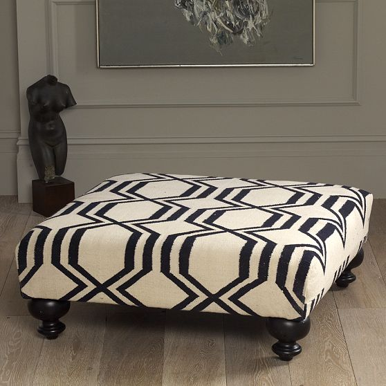 Neptune Coffee Table With Storage Ottomans: Parkdale Ave.: New @ West Elm
